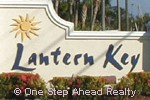 Lantern Key community sign